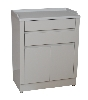 "27"" x 33.5"" x 16.25"" Treatment Cabinet w/ Two Doors, Two Drawers, One Shelf"