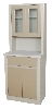 "25.25"" x 65"" x 16.25"" Treatment Cabinet w/ Upper Cabinet, Two Doors, One Drawer, One Shelf"