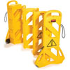 "40"" x 13"" x 13' Yellow Mobile Barrier"