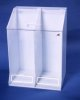"AK-1485 Two Compartment Frock Dispenser, 22""Wx30""Hx15-1/2""D"