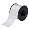 "1""x3"" B438 Tamper Evident Silver Metallized Polyester Tape (1225/roll)"