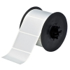 "2""x3"" B438 Tamper Evident Silver Metallized Polyester Tape (650/roll)"