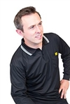 Long Sleeve ESD Polo Shirt with Collar