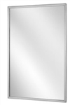 "CleanPro C-18x30 Cleanroom Mirror with Stainless Steel Channel Frame, 18"" x 30"""