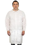 Lab Coat, Coated Polypropylene M-5XL (30 ea/cs)