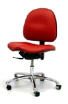 Gibo/Kodama Stamina ESD Conductive Chair with Saddle Seat