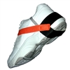 Transforming Technologies HG1370 Stretch VelcroSport Heel Grounder, 1 MegOhm Resistor, High Visibility Orange