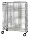 "Quantum M2460-69SEC Security Unit with 5"" Casters, 24"" x 60"" x 69"""