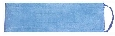 eMOP Blue Dry Pad, Microfiber with Blue Piping