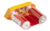 "Brady M61-R4410-RD Printer Ribbon, Red, 2"" x 75'"