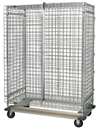 "Quantum MD2460-70SEC Security Unit with Dolly Base & Plate Casters, 24"" x 60"" x 70"""
