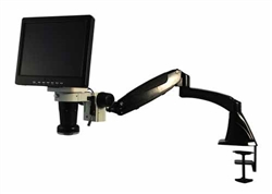 "Video Inspection System with Articulating Arm & 10"" Monitor"
