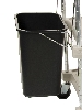 "17-7/8"" x 16-1/4"" x 14-3/4"" myCart Wastebasket, Includes Holder (for MY1627)"