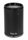 Infinity Plan Apochromatic Objective Lens for 8-80x Parallel Stereo Zoom Microscopes, 2x