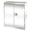 "36"" x 18"" x 42"" Stainless Steel Counter-Height Cabinet w/ Paddle Lock"