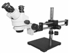 Stereo Zoom Trinocular Microscope with Dual Boom Stand
