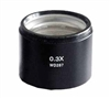 Auxiliary Objective Lens for 6.7-45x Stereo Zoom Microscopes, 0.3x
