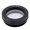 Auxiliary Objective Lens for Dual-Power Stereo Microscopes, 0.75x