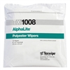 "AlphaLite® Lightweight Laundered Polyester Knit Wipes, 9"" x 9"""