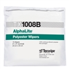 "AlphaLite® Lightweight Laundered Polyester Knit Wipes, Bulk Packed, 9"" x 9"""