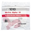 "Vectra® Alpha® 10 Polyester Double-Knit Wipes, 9"" x 9"""
