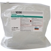 "AlphaSat® AlphaWipe® Laundered Polyester Double-Knit Presaturated Wipes, 70% IPA, 6"" x 6"""