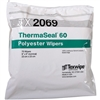 "ThermaSeal™ 60 Polyester Double-Knit Wipes, 9"" x 9"""