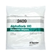 "AlphaSorb® HC 2-Ply Polyester Double-Knit Wipes, 9"" x 9"""