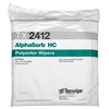 "AlphaSorb® HC 2-Ply Polyester Double-Knit Wipes, 12"" x 12"""