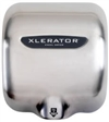 Xlerator® Brushed Stainless Steel Hand Dryer