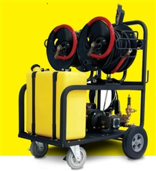 2010LXEDL-MIST-cart Dual Cold Water Pressure Washer