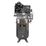 AC1080B COMPRESSOR, AIR, 80GAL, VERT BELT 10HP 230V-1PH 2STG 35CGM