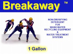 BREAKAWAY CONCENTRATED LIQUID DETERGENT - 1 GALLON