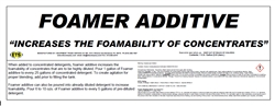 FOAMER LIQUID 1 GALLON