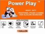 POWER PLAY - HIGH ALKALINE STEAM CLEANING DETERGENT
