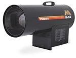 Mi-T-M Portable Heater  Propane Forced Air - MH-0375-LM10