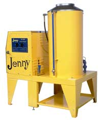 Steam Jenny SJ 180 - GES 220 Volt 1 Ph Gas Fired Steam Cleaner