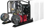 T185TWH - 200 Gallon Skid with SK30005VH  Hot Pressure Washer and Reels