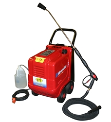Zeta 100  -  2 GPM, 110 volt, 1300 PSI. Hot Pressure Washer