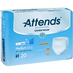 Attends Advanced (Super Plus Absorbency) Protective Underwear with Leakage Barriers - Click the picture for more product information.