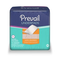 "Prevail Disposable Super Absorbent Underpad: 30"" x 30"" ** 100 per case"