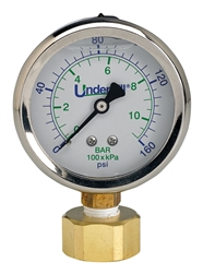 POC Hose Bib with Pressure Gauge