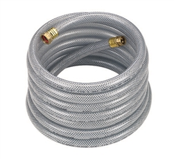 "1"" UltraMax Hose CLEAR; 100' Length; 150 PSI WP; 600 PSI Burst Strength"