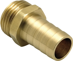 "Underhill Hose Repair. Solid Brass, Ultra Reliable. HBRM-10-M (1"" Male Mender)"
