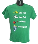 **Youth LG only** - One Fish Two Fish tee