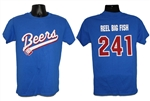 Beers jersey tee - THREE EXTRA LARGE (3XL)