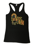 Cat Noir black racerback tank