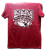 Geeky Ska Friend distressed heather red tee