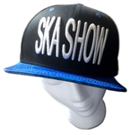 Ska Show hat with blue silly fish bill