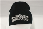 Throwback Logo embroidered knitted skull cap